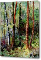 Картина Мелодия леса