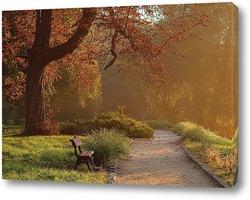 Постер Утро в парке