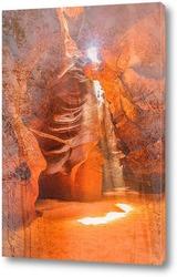 Постер Каньон в Аризоне
