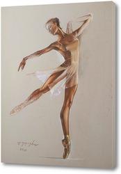 Балерина в голубом