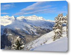 Постер горный пейзаж