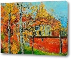Картина город Ольштын