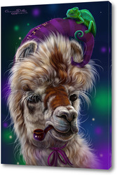 Картина Альпака и хамелеон