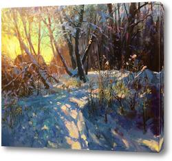Картина Зимняя прогулка