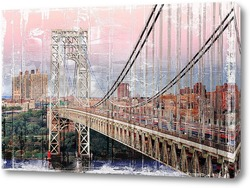 Постер  Мост Джорджа Вашингтона