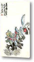Постер Цветы Хризантемы
