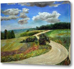 Картина Российский пейзаж