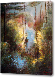 Картина Музыка леса