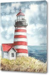 Картина Старый маяк