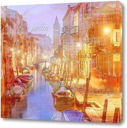 Постер Венеция винтаж
