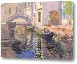 Постер Канал в Венеции