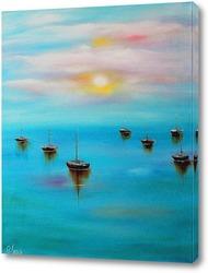 Картина Безмятежное море