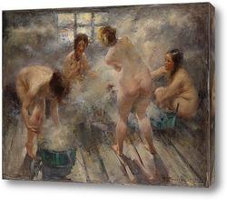 Постер В русской бане