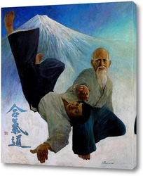 Постер Поединок. Старый мастер айкидо