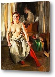 Красный чулок [1914]