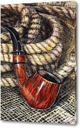 Картина Натюрморт с трубкой