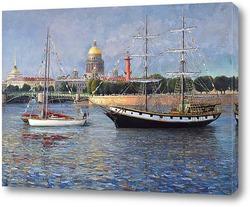 Городской пейзаж Петербурга