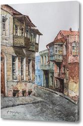 Постер Улочка в Старом Тбилиси