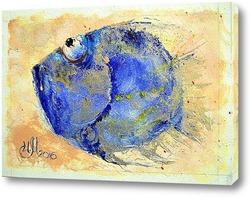 Картина Голубая фишка