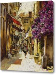 Картина Солнечная улица Испании