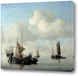 Постер Корабли в штиль