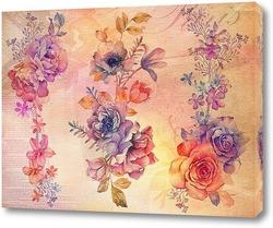 Постер Роскошные цветы