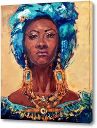 Постер Королева Африки.