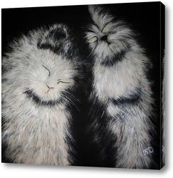 Картина Пушистое счастье