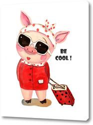Постер Крутая свинка путешествие