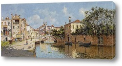 Постер Венецианский канал