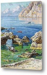 Картина Летняя бухта