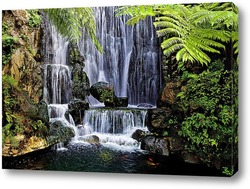 Постер Тропический водопад
