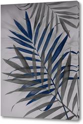 Постер Тропические листья 2