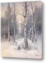 Постер Зимний Пейзаж