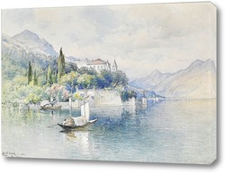 Постер Вилла Акрмоатик, озеро Комо