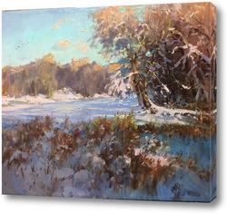 Картина Зимний этюд