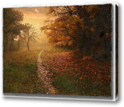 Постер Осенняя тропинка