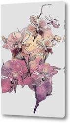 Постер Веточка орхидеи