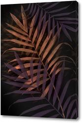 Постер Тропические листья