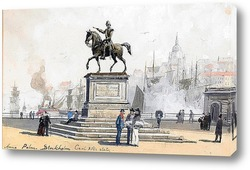 Картина Статуя Карла XIV