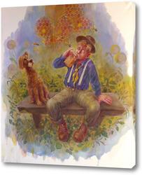 Картина Любители меда