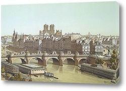 Картина Город и Новый мост