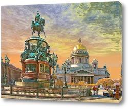 Постер Санкт-Петербург. Исакиевский собор.