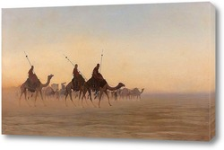 Постер Великий караван Мекки