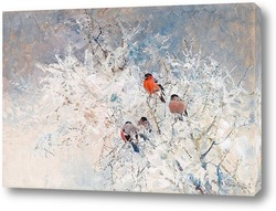 Картина Снегири