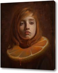 Картина Портрет с цитрусом