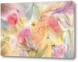 Постер Травы, да цветы