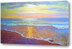 Постер янтарный берег