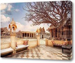 Постер Храмы Хампи в Индии
