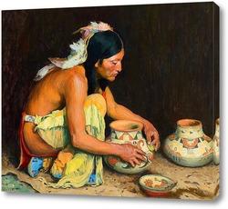 Постер Глиняная посуда
